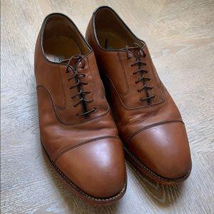Johnston & Murphy | Brown Vibram Sole Dress Shoes